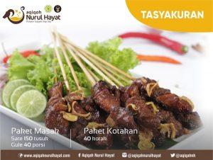 Paket Aqiqah Jakarta Barat Nurul Hayat Paket Kotakan Tasyakuran